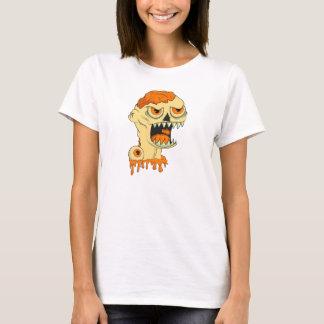 Zombies face. T-Shirt