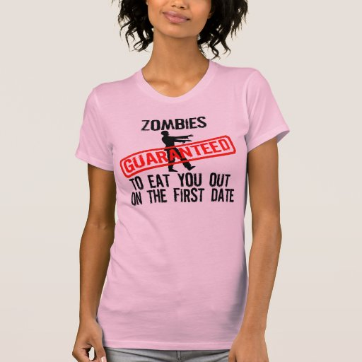 ZOMBIES, FIRST DATE TSHIRTS