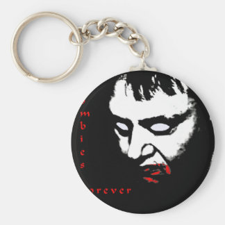 Zombies Forever Key Chain