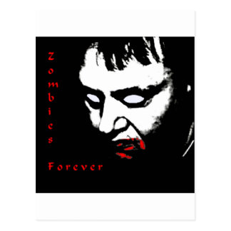 Zombies Forever Postcard