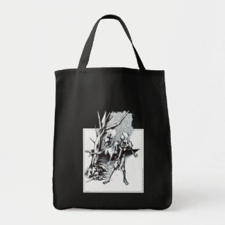 Zombies Grocery Tote Bag