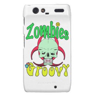 Zombies Groovy 70s 1 Droid RAZR Case
