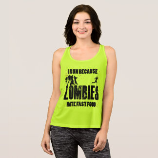 Zombies Hate Fast Food Singlet