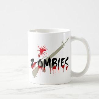 Zombies Hunter Coffee Mugs