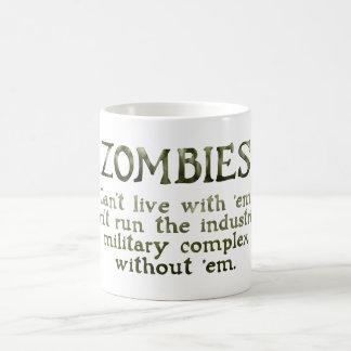 Zombies Industrial Military Complex Magic Mug