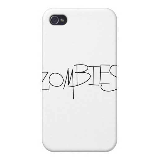 Zombies! iPhone 4 Covers