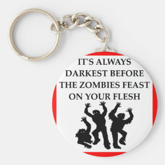 ZOMBIES KEY RING
