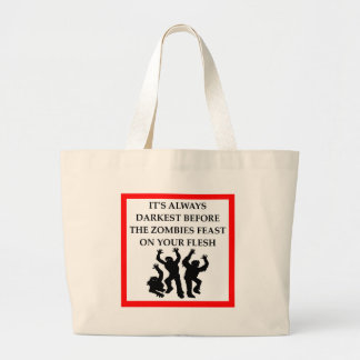 ZOMBIES LARGE TOTE BAG
