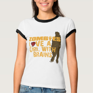 Zombies Love A Girl T-Shirt