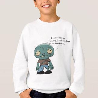 zombies love brains sweatshirt