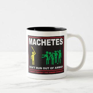 Zombies: Machetes Don't Run Out of Ammo© Mug