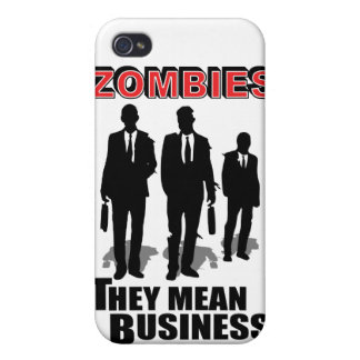 Zombies Mean Business Cases For iPhone 4