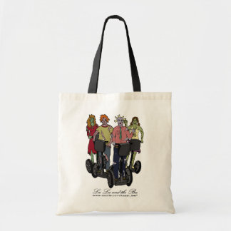 Zombies on Segways 2, shopping bag Budget Tote Bag
