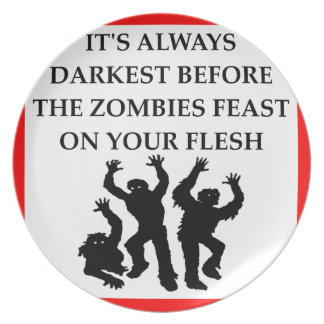 ZOMBIES PLATE