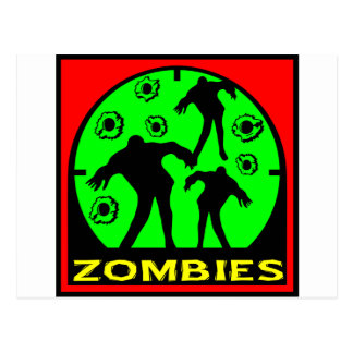 Zombies Postcard