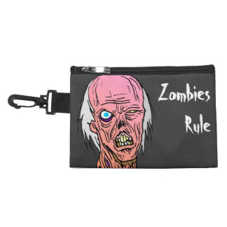 Zombies Rule Accessory Bags