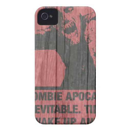 zombies - the apocalypse  is coming iPhone 4 Case-Mate case