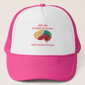 zombies trucker hat