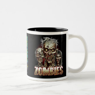 ZOMBIES! Two-Tone COFFEE MUG