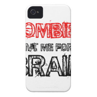 zombies want me for my brain Case-Mate iPhone 4 case