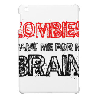 zombies want me for my brain cover for the iPad mini
