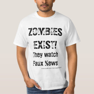 Zombies Watch Faux News T-Shirt