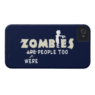 Zombies Were People Too iPhone 4 Case