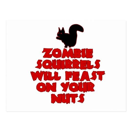 ZombieSquirrelpng Postcard