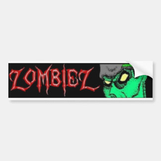 ZombieZ Bumper Sticker