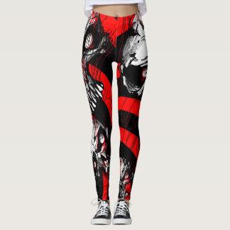 ZOMBIFIED_ bigskull_leggings Leggings