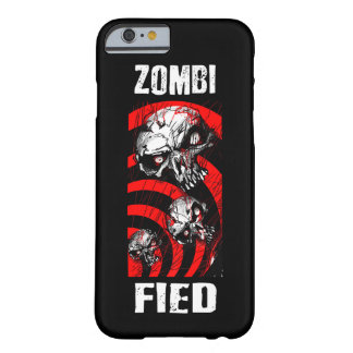 ZOMBIFIED_ BLACK PHONE CASE