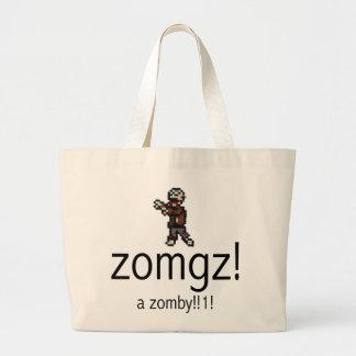 zomgz a zomby 1 canvas bags