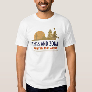 ZONA AND ZAGS - BEST IN THE WEST T-SHIRT