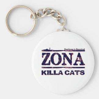 Zona Killa Cats - Nastiness is Required Key Chain