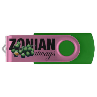 Zonian Always with Ginnups USB Flash Drive