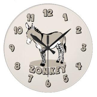 Zonkey Large Clock