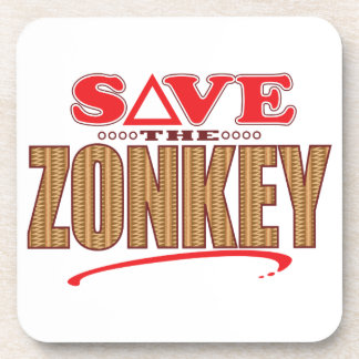 Zonkey Save Coaster