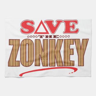 Zonkey Save Kitchen Towel
