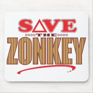 Zonkey Save Mouse Pad
