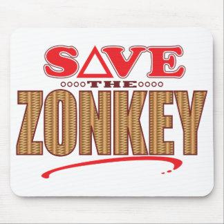 Zonkey Save Mouse Pad