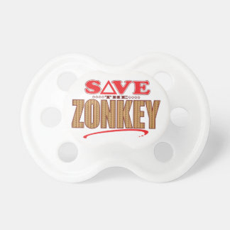 Zonkey Save Pacifiers