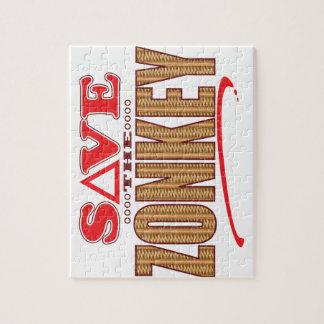Zonkey Save Puzzles