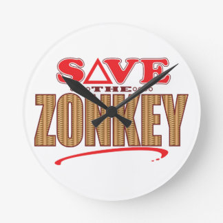 Zonkey Save Wallclock