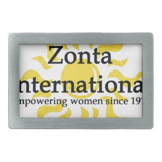 Zonta International Sun Shirt Belt Buckle