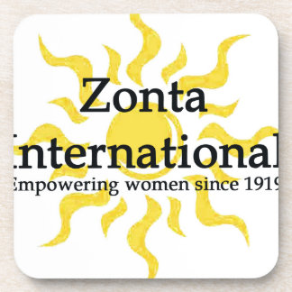 Zonta International Sun Shirt Coaster