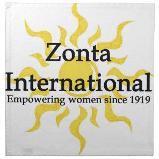 Zonta International Sun Shirt Napkin