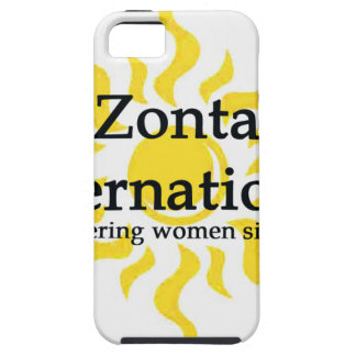 Zonta International Sun Shirt Tough iPhone 5 Case