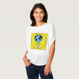 Zonta International t-shirt with globe