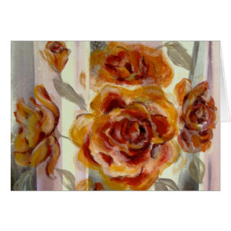 Zonta Yellow Rose Composition Card