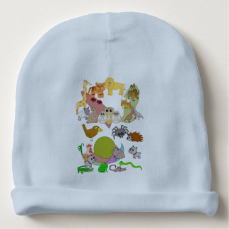 Zoo Animals Baby Beanie